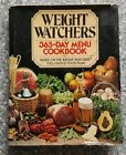 Weight Watchers 365 Day Menu Cookbook First Edition Hardcover