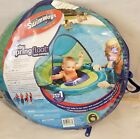 SwimWays Baby Spring Float Sun Canopy Blue 9 24 Months Pool Toy