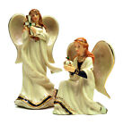 HAWTHORNE VILLAGE Irish Nativity Crown Angel  Standing Angel Lot 2004