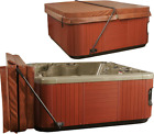 Lift Spa Covers For Hot Tub Low Mount Jacuzzi Protector 8 ft Square Rectangular
