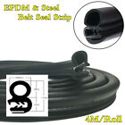 4M Roll Rubber EPDMSteel Belt Seal Sealing Strip Car Body OEM Replacement Parts