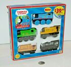 Thomas Train & Friends Tank Wooden Railway - 5-Car Engine Pack - NEW Bill Duncan