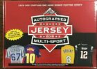 2019 Leaf Autographed Multi-Sport Jersey Edition Factory Sealed Box
