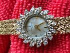 Baume and Mercier 14k Gold and Diamond Women's Watch