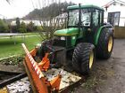 John Deere 5400 tractor with hydraulic snow plough