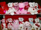 Ty Beanie Babies Valentine's Day or Heart Themed Bears and Animals New