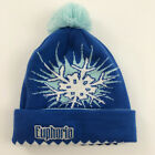 Ska Brewing Beanie Hat Durango, Colorado Euphoria Blue Pom