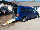 WHEELCHAIR ACCESSIBLE WAV DISABLED MOBILITY 2011 VOLKSWAGEN CADDY MAXI LIFE AUTO