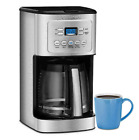 Cuisinart 14 Cup Programmable Coffee Maker with Hotter Coffee Option