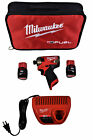 Milwaukee 2551 22 M12 Fuel Surge 1 4 In Hex Hydraulic Compact Impact Kit