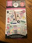 happy planner stickers book