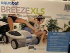 NEW AQUABOT BREEZE XLS X LARGE ROBOTIC POOL CLEANER IN GROUND  ABOVE GROUND