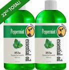 Peppermint Essential Oil 16 Ounce Bottle Therapeutic Grade 16oz 2 PACK