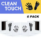 6Pcs Baby Handprint And Footprint Ink Pads Paw Print Ink Kits For Baby And Pets