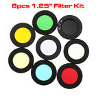 7 Colors Skyglow Moon Filter Astronomy Eyepiece Telescope Cut Light Pollution US
