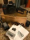 Nikon D700 Body Great Condition 121 MG 39000 Shutter Count w charger