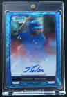 2012 Bowman Baseball Blue Wave Refractor Autographs Are Red-Hot 50
