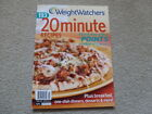 WEIGHT WATCHERS 193 20 MINUTE RECIPES Magazine style Fall 2009