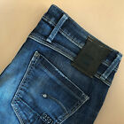 GStar Jeans Skinny Leg Low Rise Blue Vintage Womens LabelW28L32 Small UK 10