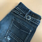 GStar Jeans Straight Low Rise Blue Denim Vintage Womens LabelW28L34 UK 10