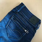 GStar Jeans Midge Cody Skinny Low Rise Blue Vintage Womens LabelW31L30 UK 14