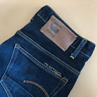 GStar Jeans 3301 Low Rise Tapered Leg Blue Vintage Mens LabelW29L32
