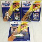 3x 1992 Kenner Starting Lineup w/Poster FELIX JOSE DAVID JUSTICE CRAIG BIGGIO