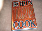 AUTOGRAPHED BOOK  Toxin  Robin Cook 1998