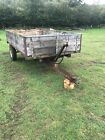 3 Ton Tipping Trailer Muck Tractor