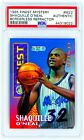 SHAQUILLE O'NEAL 1995 Topps Finest Mystery #M22 BORDERLESS REFRACTOR PSA SHAQ
