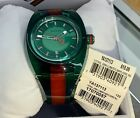 Brand New With Box&Tags GUCCI Sync XXL Green Dial Men's Green/Red Watch YA137113