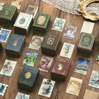 100Pcs Box Diary Label Gift Collection Lot Of Books Paper Sticker Boxed Stickers