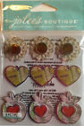Map Charms Dimensional Stickers Jolies Boutique