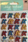 A+ Letters Dimensional Stickers in Glitter  Gems Jolees Boutique
