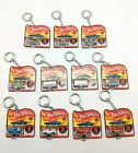 Lot Of 12 Hot Wheels Worlds Smallest Retro Car  Keychain Case by Mattel