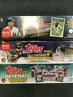 2015 2016 2017 TOPPS Baseball FACTORY Set LOT of 3 Sealed Sets