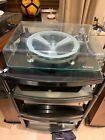 Michell Syncro Turntable With Audio Technica At-1120 Low Mass Fitted With P77