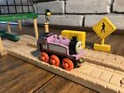 Authentic Wooden Thomas Train RFID Talking Railway Rosie! Gold Magnets!