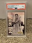 1997 Starting Lineup Cooperstown Collection Card - DUKE SNIDER - PSA 9 Mint pop1