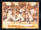 MICKEY MANTLE yankees THE SWITCH HITTER CONNECTS 1962 TOPPS #318 NO CREASES