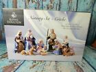 Royal Doulton Giftware 2005 Christmas Nativity Figure 10 Piece Complete Set