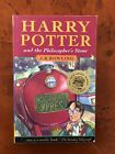 J K Rowlings Harry Potter and the Philosophers Stone 1st Ed PB With Wand Error