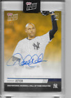 2020 TOPPS NOW DEREK JETER #OS-59F HALL OF FAME INDUCTEE AUTOGRAPH #'d 1 1 AUTO