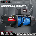 X BULL Electric Winch 12000lbs 12V With Remote Control Truck Jeep Truck