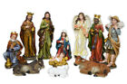 Holy Family Christmas Nativity Scene 24 Inch 11 Piece Large Color Set