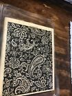 Stampin Up Paisley Used Large Stamp Scrapbook Cards SUStamp