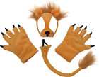 Kids Nativity Animal Fancy Party Lion Set Outfit Mask Tail With Paws