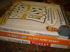 3 Books THE BIGGEST LOSER Fitness Program 30 Day Jump Start Weight Loss Program