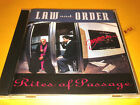 LAW AND ORDER cd RITES OF PASSAGE hits DAWN OVER ZERO plague of ignorance