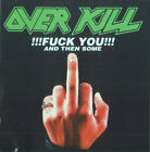 Overkill - Fuck You And Then Some CD - USED Thrash Metal Compilation EP